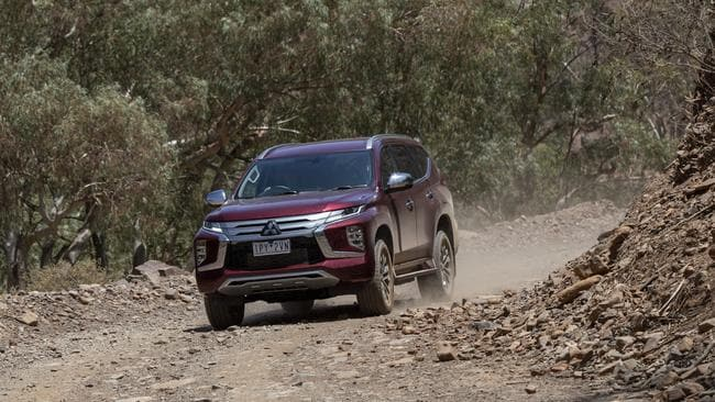The Pajero Sport has a towing capacity of 3100kg.