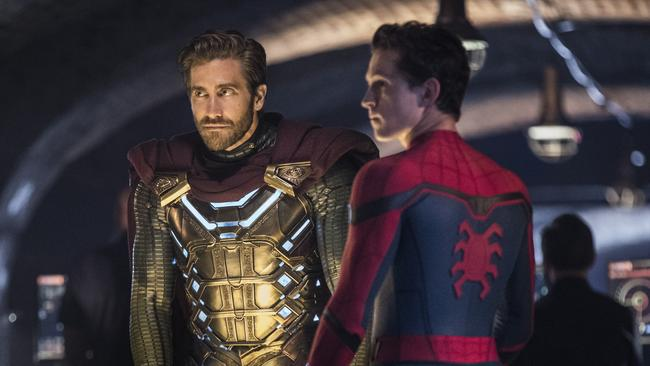 Mysterio, the master of deception Picture: Jay Maidment/Columbia Pictures