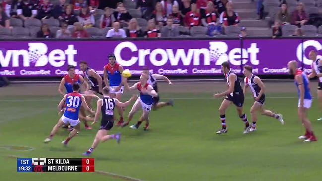 Clayton Oliver now gathers the ball in space