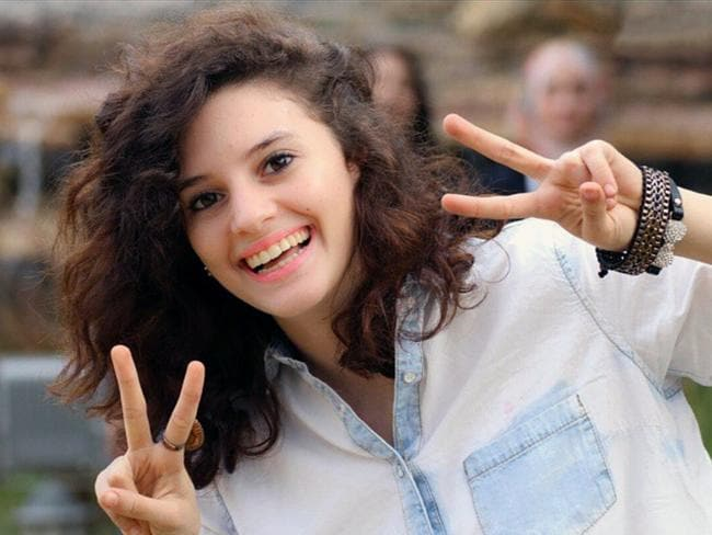 Israeli student Aiia Maasarwe was remembered at a vigil on Friday night.