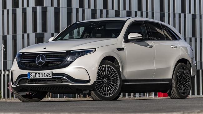 Despite its revolutionary underpinnings, the EQC looks remarkably conventional. Picture: Supplied.