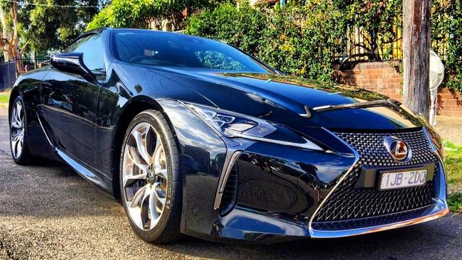 The LC 500 I was lucky enough to drive for the week. Picture: Wilson Smith