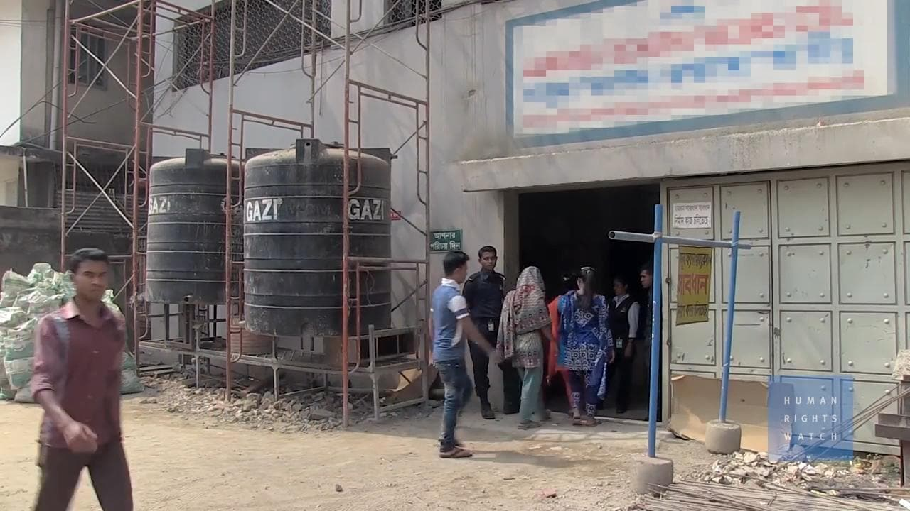 Harassment, Anti-Union Tactics in Bangladesh Garment Factories