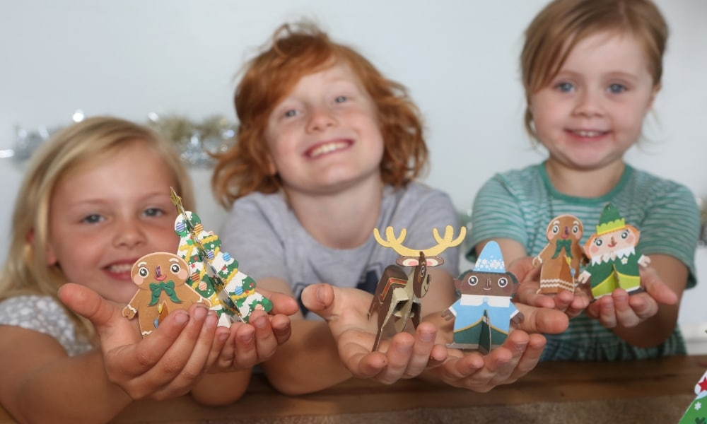 Woolworths Releases Christmas Pop Outs To Collect Kidspot