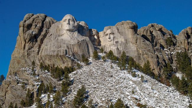 Build it and they will come. Mount Rushmore in South Dakota. Picture: Julian Hattem/Getty Images