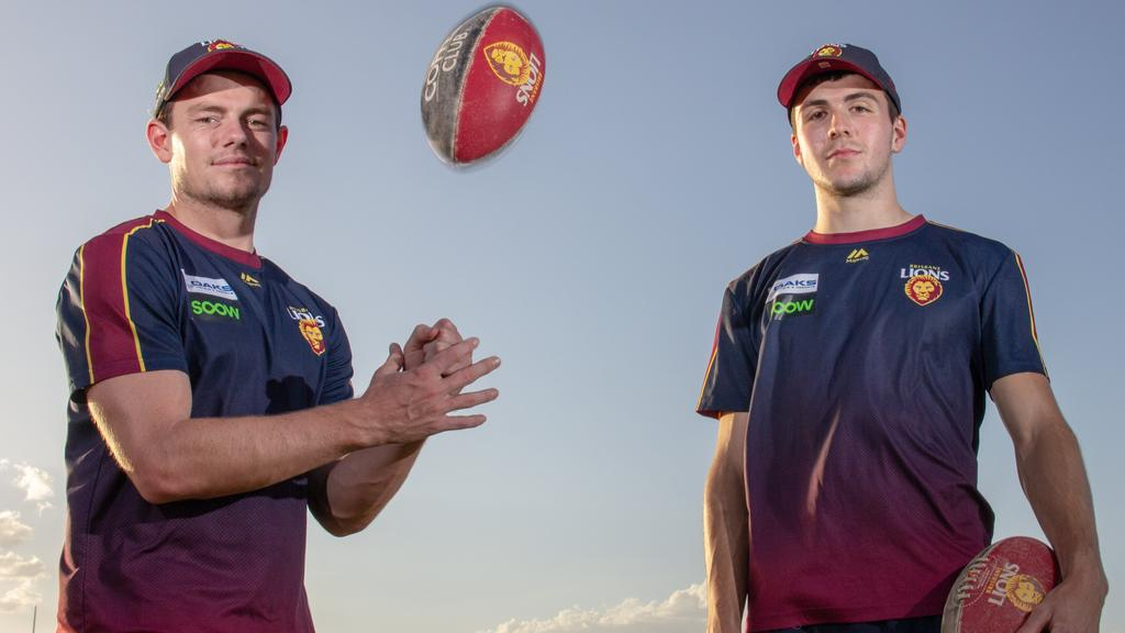 Lachie Neale (left) is back but James Madden (right) is out.