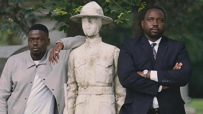 Daniel Kaluuya from 'Get Out' and 'Black Panther' and Brian Tyree Henry from 'Atlanta' both stretch their dramatic legs in 'Widows' (20th Century Fox via AP)