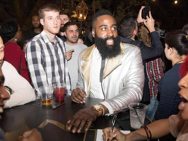 James Harden and the bizarre strip club anomaly.