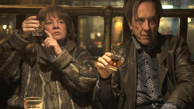 Spoiler alert. Richard E. Grant has been winning over voters. Picture: Mary Cybulski/Fox Searchlight Pictures via AP