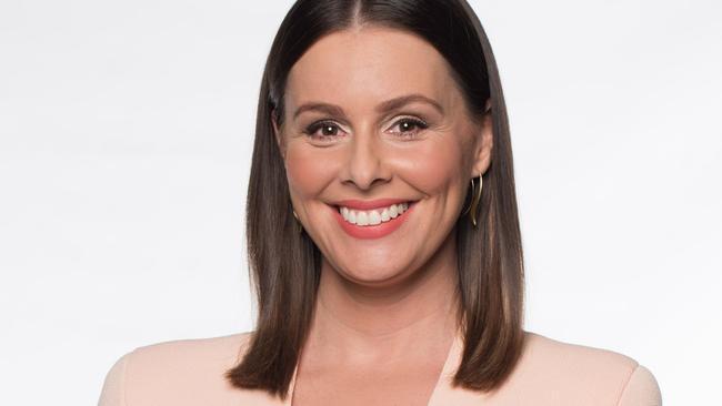 Channel 9 news presenter Eva Milic.