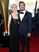 Jacqueline McKenzie and Ryan Corr arrive on the red carpet for the 4th Annual AACTA Awards held at The Star in Pyrmont. Picture: Richard Dobson