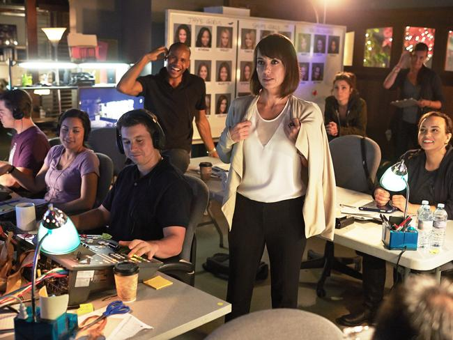 Real reality ... UnREAL is a bitchy, behind-the-scenes look at a Bachelor-style dating show. Picture: Supplied.
