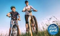 Top tips for keeping active these school holidays