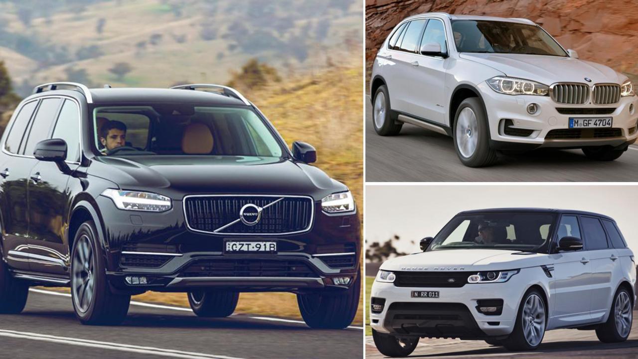 SUVs drive record car sales