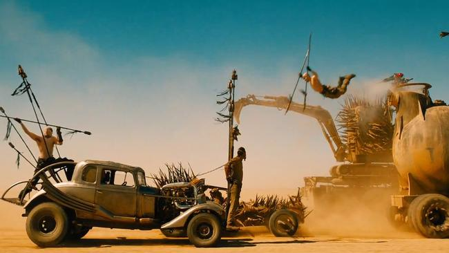 The vehicles in Mad Max: Fury Road are plentiful and amazing.