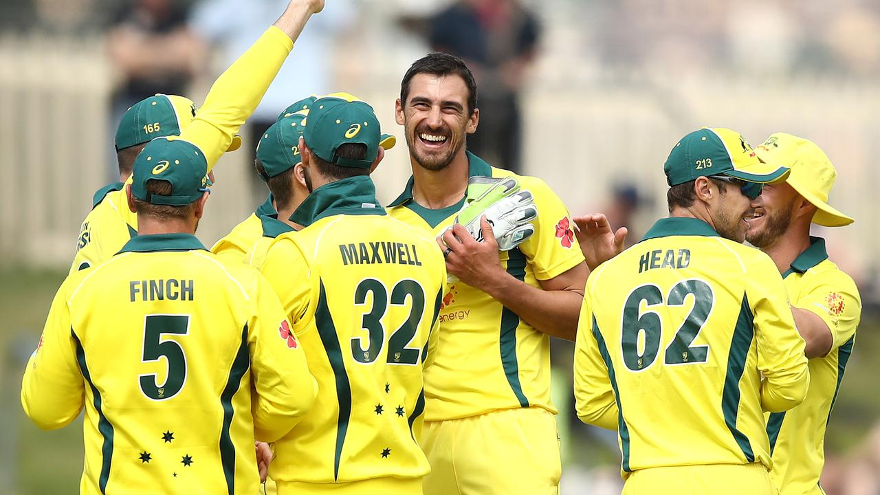 Mitchell Starc found some of his best form once again towards the end of the summer.