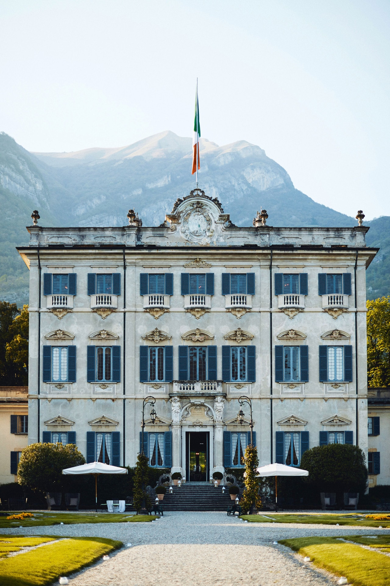 Inside a grand 16th century hotel villa on Lake Como