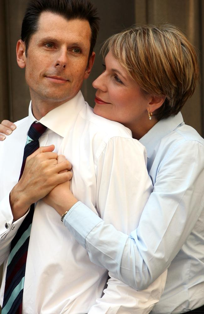 Michael Coutts-Trotter met his wife, deputy Labor leader Tanya Plibersek while studying journalism.