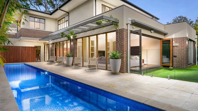 This Melbourne mansion ticks all the boxes for bidders in Victoria. Picture: Supplied
