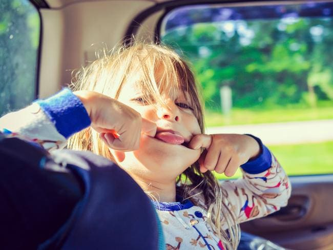 Parents argued it wasn't possible for drivers to keep an eye on the back seat and drive safely. Picture: iStock.
