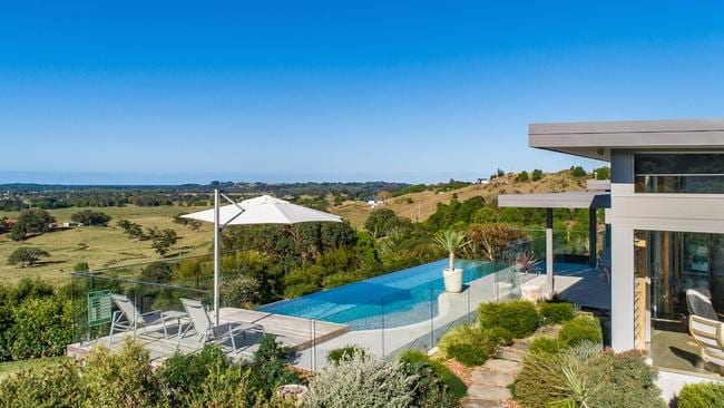 The Springs has been rated as Byron Bay's 'best house'.