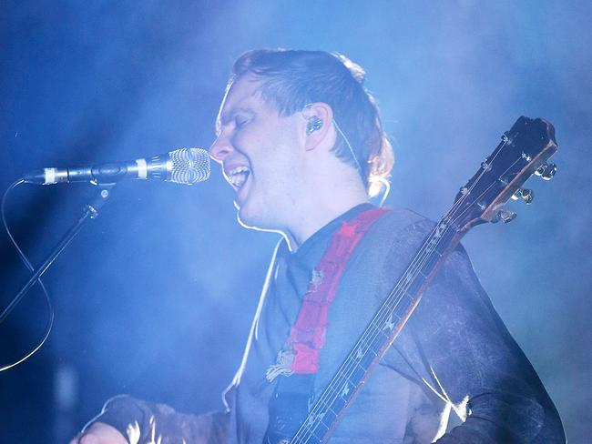 Jonsi Birgisson of Sigur Ros during their Splendour gig last year. Picture: Mark Metcalfe/Getty