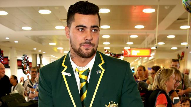 Andrew Fifita has defected from Australia to Tonga.