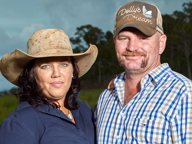 Kate and Tick Everett, the parents of Dolly Everett who took her life, helped establish the charity Dolly's Dream. Picture: AAP