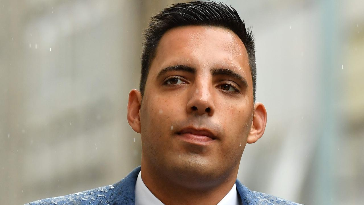 Ryan Ali has denied a charge of affray.