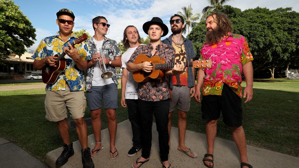Cairns band The Taste put fresh flavour into iconic song Sunday Funk
