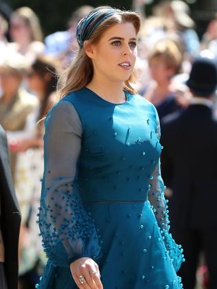 Prince Harry's cousin, Princess Beatrice. Picture: AFP