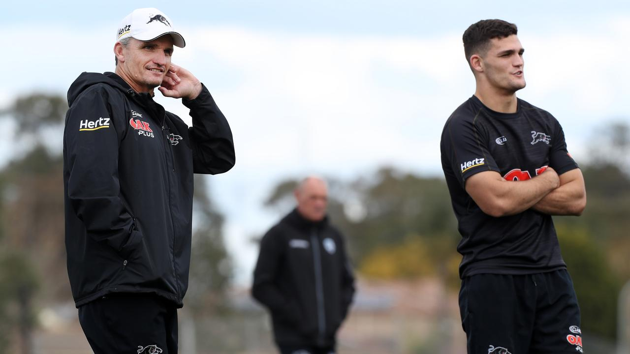 Ivan Cleary and Nathan Cleary are under pressure to deliver the Panthers success.