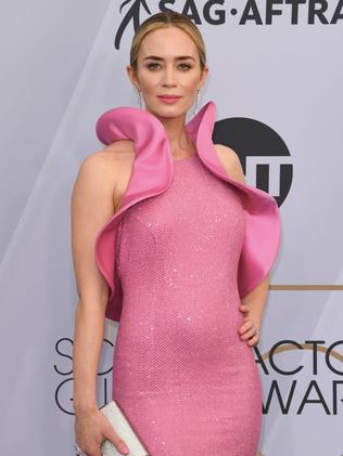 Emily Blunt pulled out of the Marvel film. Picture: Mark Ralston/AFP