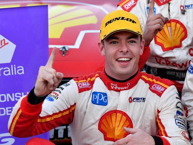 Championship leader Scott McLaughlin.