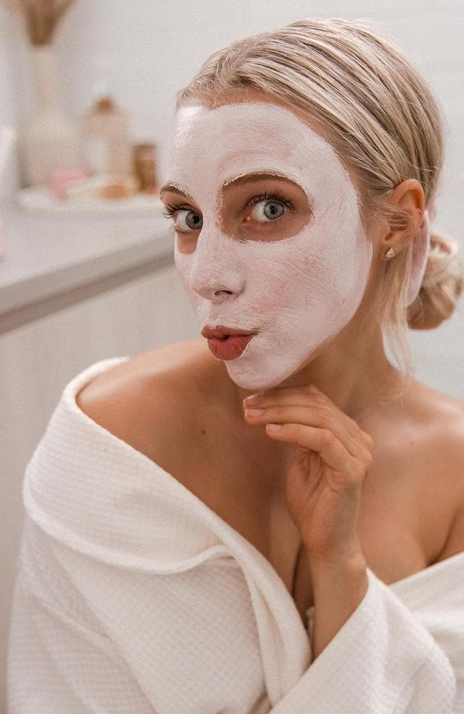 The influencer, who has one million Instagram followers, is behind the La'Bang Body skincare products — a company she collaborated with to bring out products for her followers. Picture: Insagram / Sarah's Day