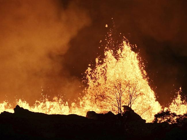 An eruption at the volcano could have catastrophic consequences. Picture: AP