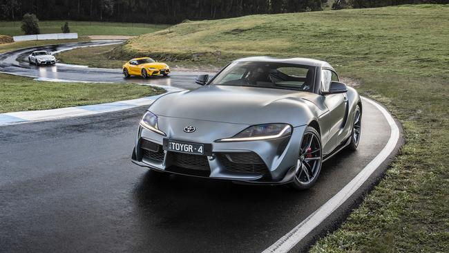The Supra is a hell of a car to drive. It loves corners and has extremely accurate steering.