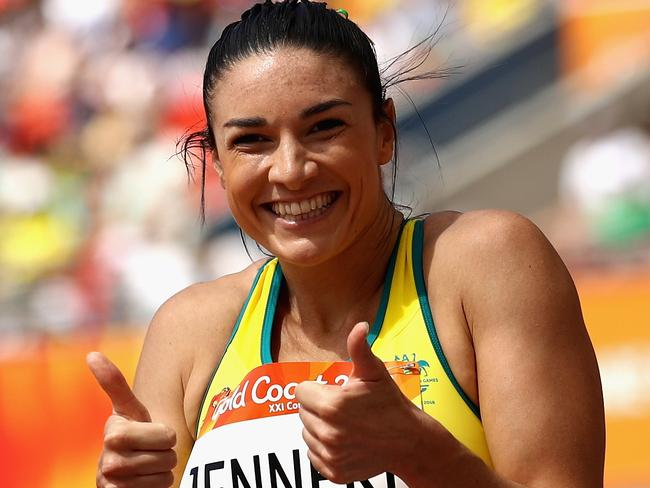 Michelle Jenneke says she will be pushing for a PB in the final.