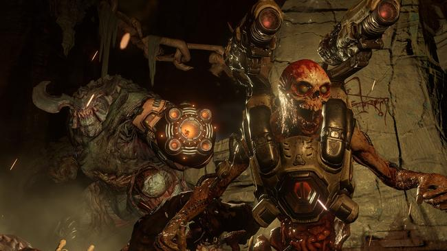 Doom felt like playing the original, just with much better graphics and smoother gameplay.
