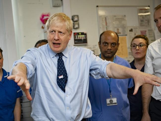 UK Prime Minister Boris Johnson has been accused by a journalist of touching her inappropriately but his office has denied the allegations. Picture: Getty Images
