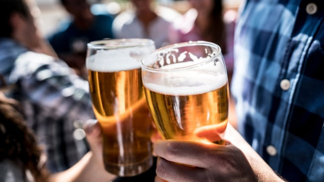 Drinking alcohol three months before pregnancy or during the first trimester was associated with a 44 per cent increased risk of congenital heart disease for dads and 16 per cent for mums, compared to not drinking. Image: iStock.