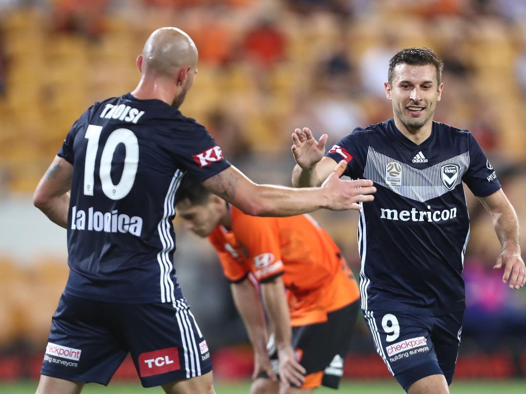 A-League Rd 15 - Brisbane v Melbourne