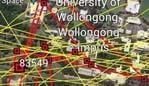According to the GPS data, the shark tag has been crossing the University of Wollongong campus.