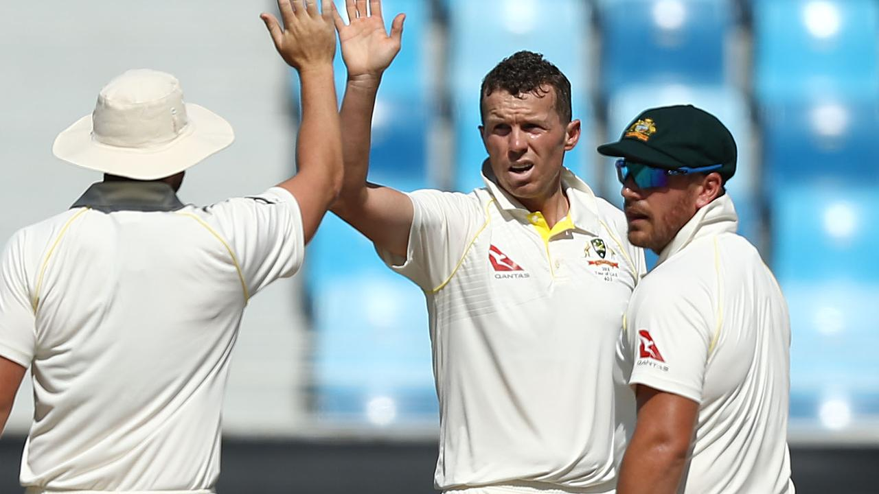 Peter Siddle has moved past Merv Hughes for Test wickets taken by an Australian bowler.
