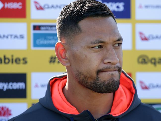 Israel Folau has missed the 2019 Rugby World Cup.