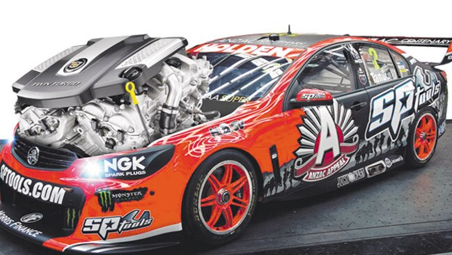 V8 Supercars Holden Consider Dumping 5l Engine For V6 From A