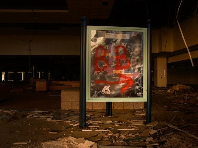 The Metro North Mall in Kansas City was once thriving and busy. Picture: Seph Lawless
