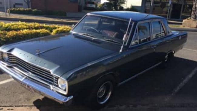 Police investigating the murder of Wayne Youngkin released this image of a green Chrysler Valiant sedan.