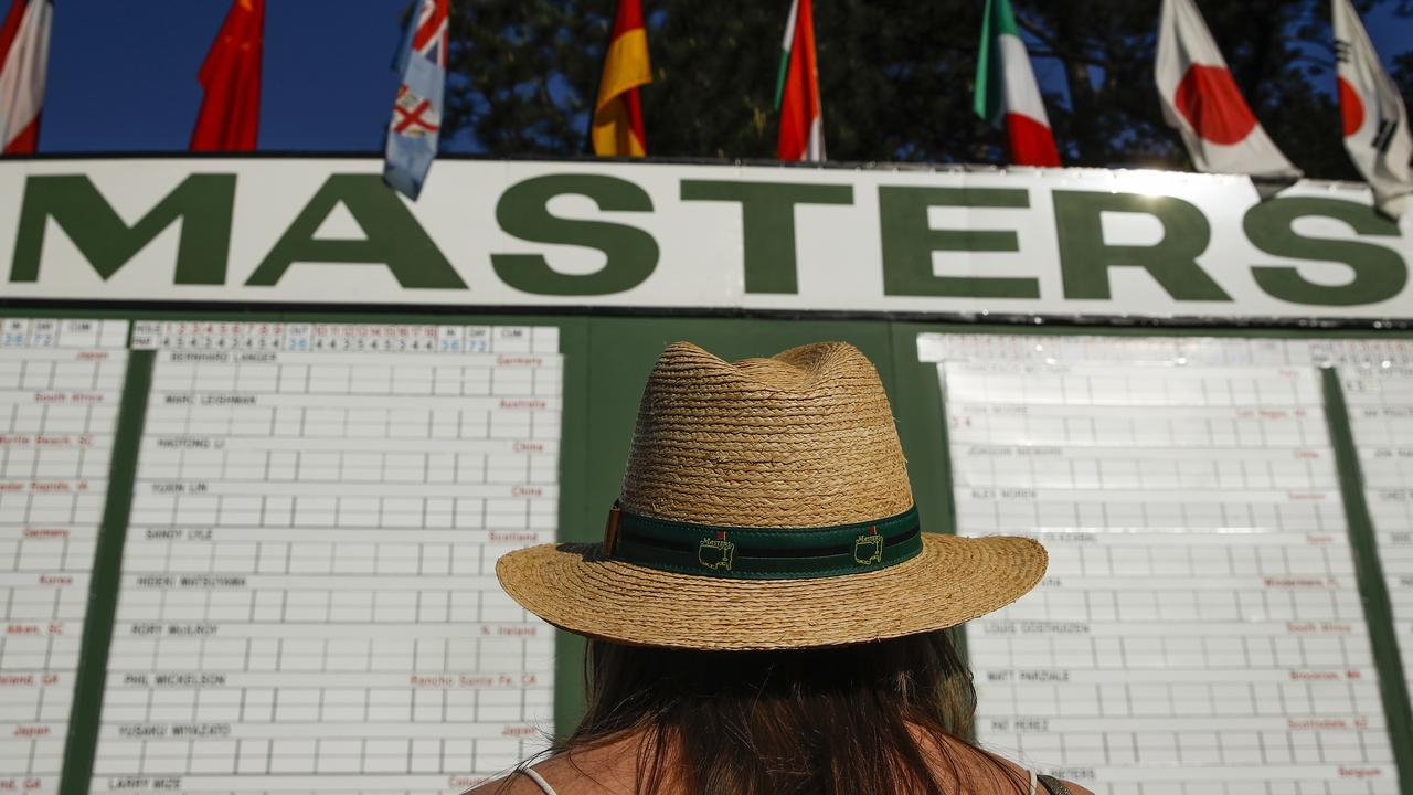 It is the first interruption to the Masters since World War II, when the tournament was cancelled from 1943-1945. Picture: Charlie Riedel