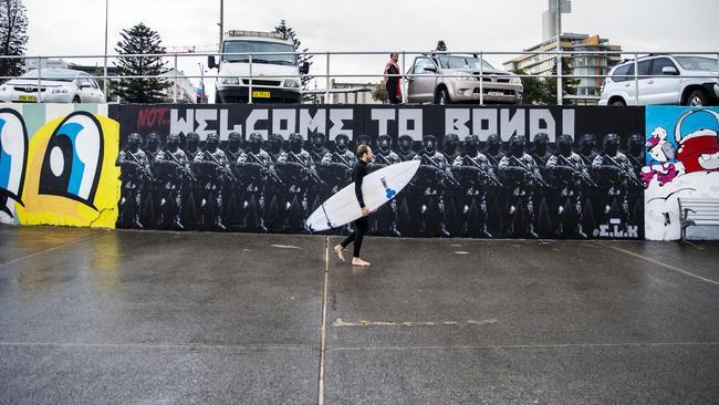 The controversial mural at Bondi Beach dividing locals